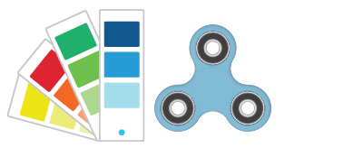 Referenze Pantone ® Fidget Spinner